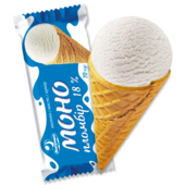 photo «MONO PLOMBIERES ICE-CREAM» in a wafer cone