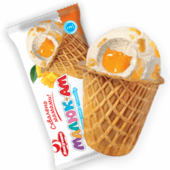 Ice-cream Malyuk-Am with mango for children
